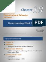 Chapter 10- Understanding Work Teams