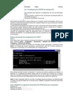 1_redPráctica de laboratorio 1 Configuración TCP