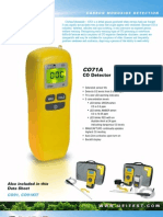 Detector de Co 0 a 999 Ppm - Ref. Co71a Uei
