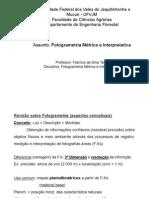 fotogrametria e fotointerpretação (aulas) (1)