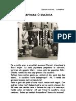 EXPRESSIÓ ESCRITA