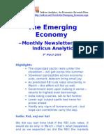 Emerging Economy March 2009 Indicus Analytics