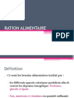 Ration Alimentaire