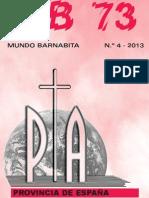 Revista Mundo Barnabita. nº 4-2013