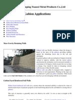 Gabion Applications