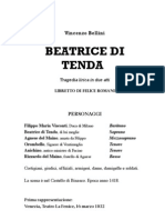 Bellini Beatrice Di Tenda