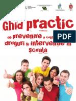 Ghid Practic Cadre Didactice Consum Droguri