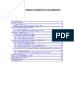 Enhanced Transmission Resources Management Ed3