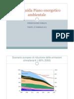 Presentazione Piano energetico-ambientale Provincia Trento