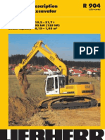 Technical Description Hydraulic Excavator Operating Weight 19,2 – 21,7