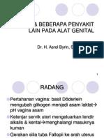 Radang & Beberapa Penyakit Lain Pada Alat Genital