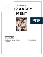 angry men movie analysis attitude psychology decision making a case study on 12 angry men