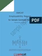 AMCAT Candidate Feedback