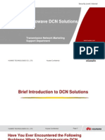 Huawei RTN Microwave DCN Solutions V1.3 (20101115)