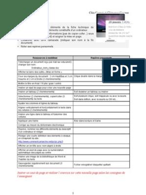 Descriptif Clémence Cléa Scanner Informatique