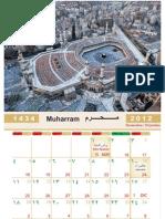 Calendario Islámico 1434 -  2013