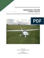 Autonomous Aircraft Anonlinear Approach