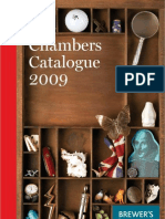 Chambers Catalogue 2009