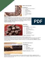 Torta Cioccolatino - Brownies - Salame