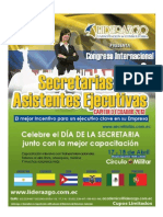 Secretarias Capitulo Ecuador - Abril 2.013