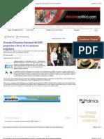 18-03-2013 DossierPolitico.com Escucha Directora Nacional Del DIF, Propuesta a Favor de Los Menores Migrantes.