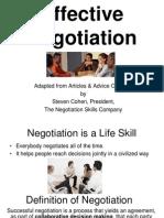 Negotiation Presentation