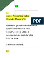 Internacional Andredecarvalhoramos Debate 27.03.09