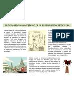 18 de marzo - Aniversario de la expropiación petrolera