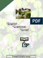 English Grammar Script