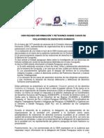 Reporte Sobre Audiencia Ante La CIDH