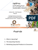 The Upcycling Industry