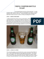 Coopers Yeast Culturing