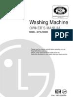 Lavadora Manual Del Usuario Modelo WFSL 1532EK