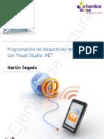 Programación de dispositivos móviles con Visual Studio .NET (ejemplo)