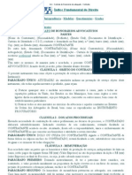 DJi - Contrato de Honorários de advogado - Contratos