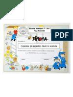 Diplomas Licenciatura