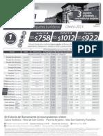 Tarifas Colonia Vie y Sab Otoño hasta 30062013