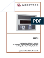 51215 EGCP 3 Operation With an Automatic Transfer Switch ATS en AppNote