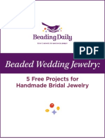 Beaded Wedding Jewelry