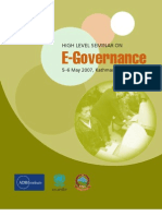 2007.11.28.Book.high.Level.seminar.egovernance