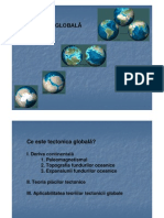 13. Geologie Generala - Prezentare 13 - Tectonica Globala