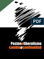 Post-Neoliberalismo. Cambio o Continuidad - CEDLA (Seminario)