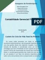 Custeio do ciclo de vida do produto (apresentação trabalho)