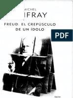 Freud, Crepusculo de Un Idolo