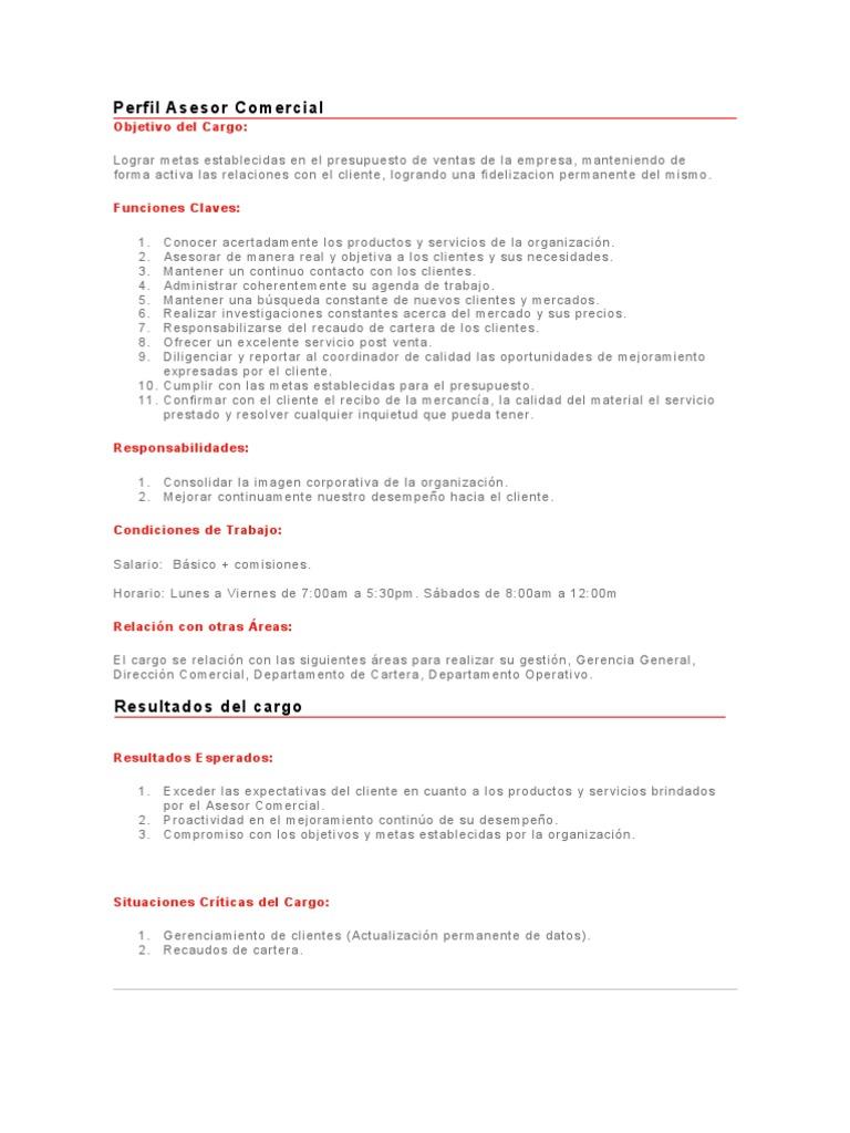 Perfecto Perfil De Ventas Ideas Ornamento Elaboración Festooning ...