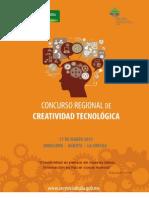 CONVOCATORIA CREATIVIDAD REGIONAL 2013- DOCENTES (Actualización 08feb13)