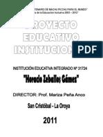 Pei Completo de Hzg 2013