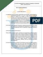 Lec Evalu1 La Cultura Sobre Proyectos