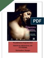Programa Semana Santa de Plasencia 2013.Francais