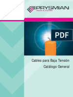 Catalogo Cables BT Prysmian